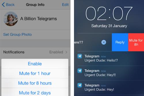 Telegram Mute
