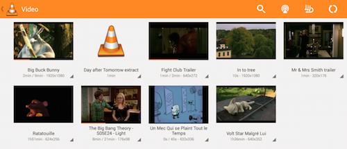 VLC Player Ansicht