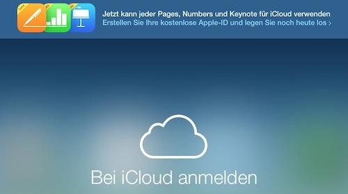 iCloud Beta Website