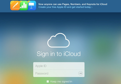 icloud.com fuer alle Web