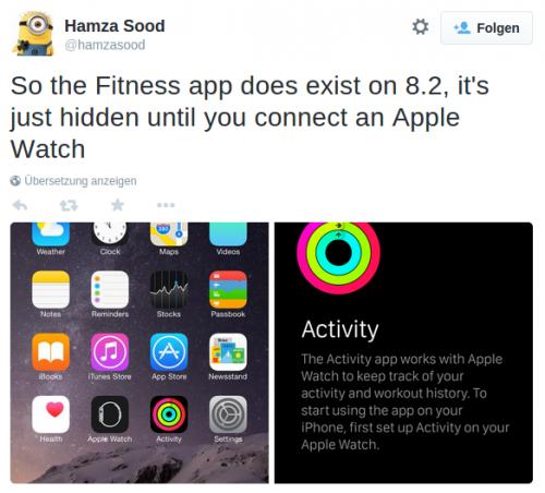 Apple Watch Activity App Bild