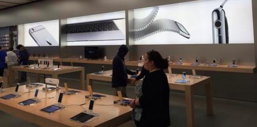 Apple Watch Store Plakat