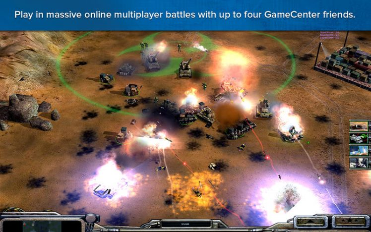 Command and Conquer Generals Screen1