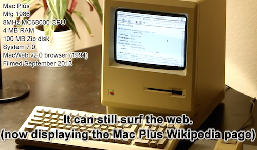 MacPlus Internet Video