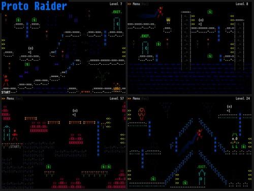 Proto Raider Screen