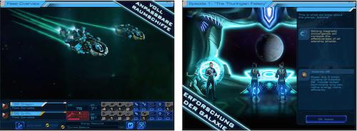 Sid Meiers Starships Ansicht