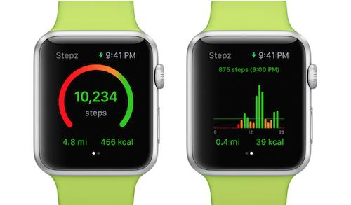 Stepz Apple Watch Voransicht
