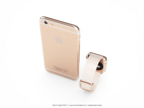 iPhone 6 Gold Bild1