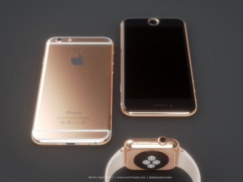 iPhone 6 Gold Bild2