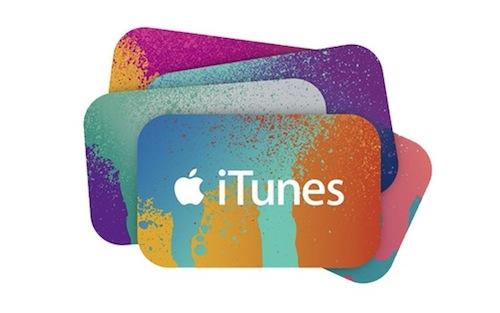 iTunes Karten Logo