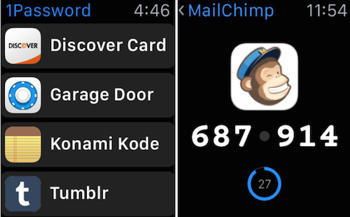 1Password Watch App