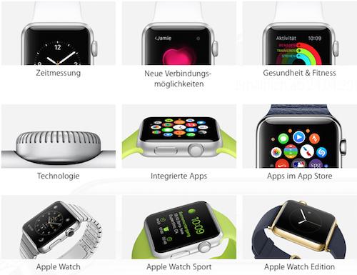 Apple Watch Kollektion