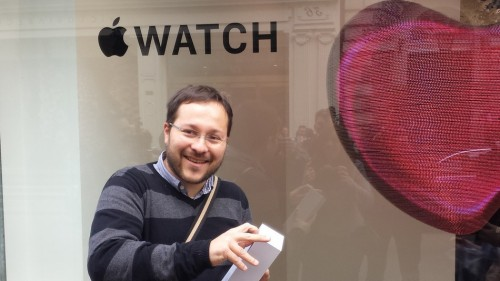 Apple Watch Reisender