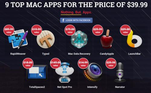 Bundlehunt 9 Mac Apps Bild