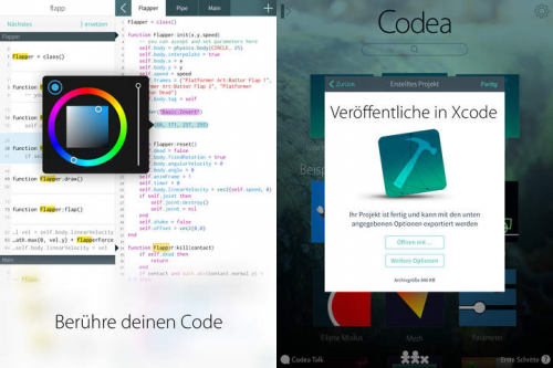 Codea Screen2