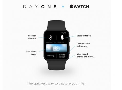DayOne Apple Watch