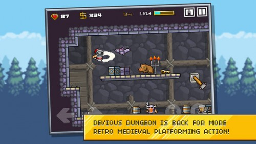 Devious Dungeon 2 Screen1