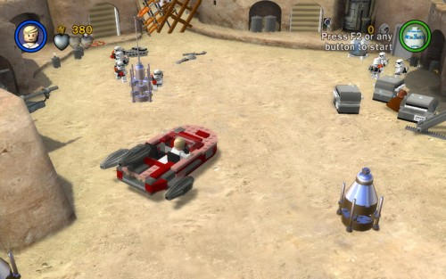 Lego Star Wars Mac Screen