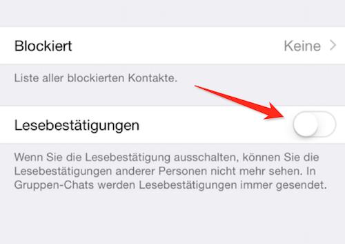 Der erste Weg, zu erfahren, wer eine Nachricht in einer WhatsApp-Gruppe auf dem iPhone gelesen hat