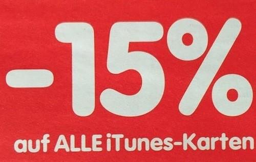 Minus 15 Prozent