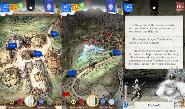 Sorcery 3 Screen