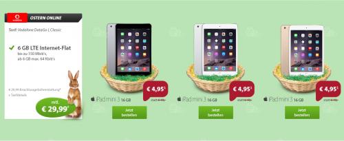 Sparhandy iPad Mini Oster Deal 2015