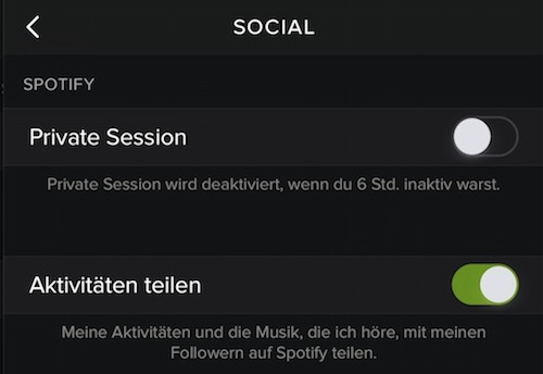 Spotify Private