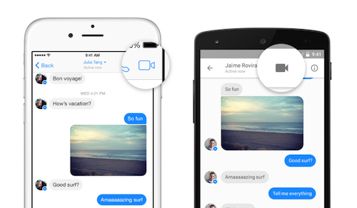 Video Chat Messenger Facebook