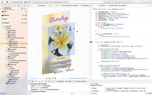 Xcode Screen