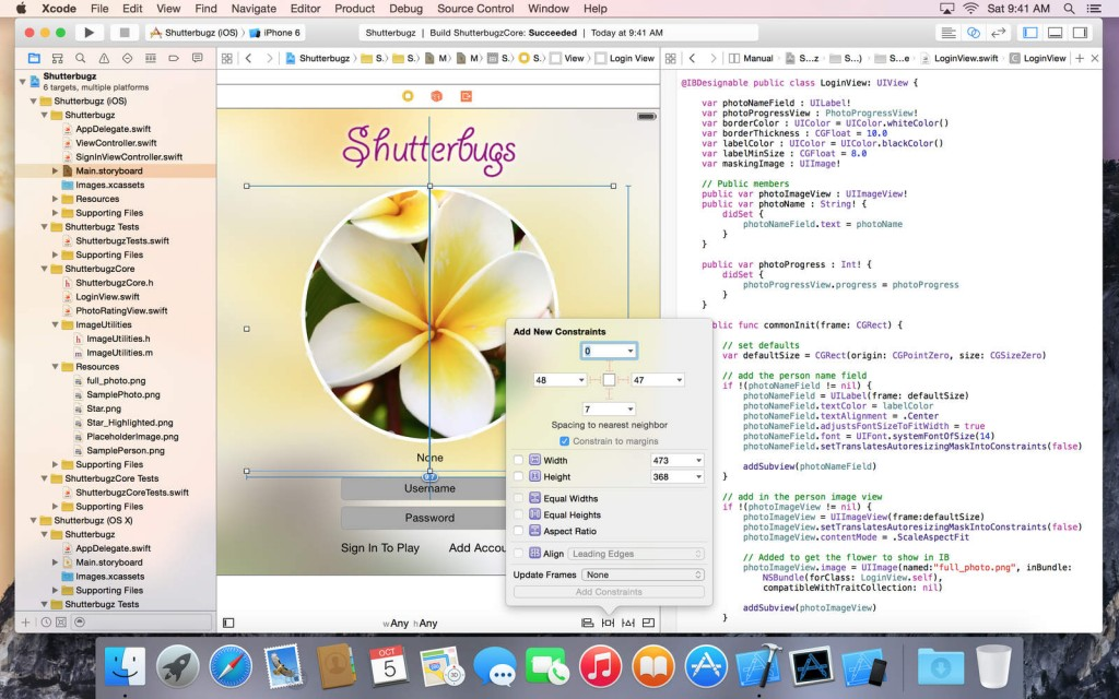 Xcode Screen1