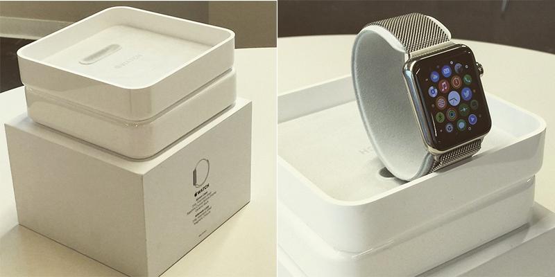 apple watch sieht so die verpackung aus fotos itopnews. Black Bedroom Furniture Sets. Home Design Ideas