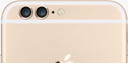 iPhone mit Teleobjektiv