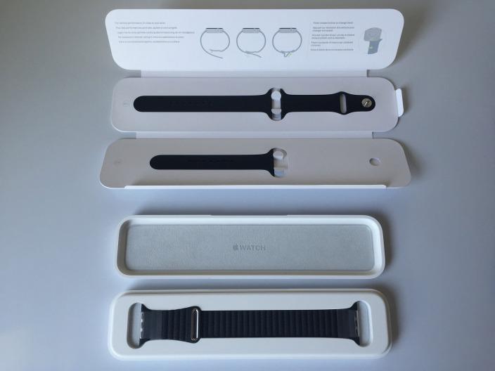 apple watch zus tzliche armb nder verpackung und tausch itopnews. Black Bedroom Furniture Sets. Home Design Ideas