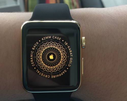 Apple Watch Gold 1