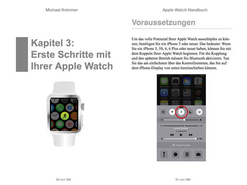 Apple Watch Handbuch Screen