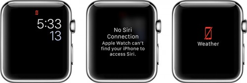 Apple Watch Verbindungsprobleme