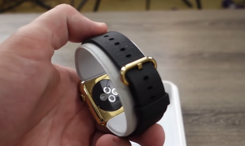 Apple Watch vergoldet Bild