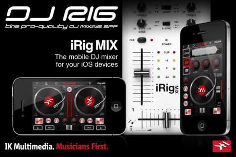 DJ Rig App Screen
