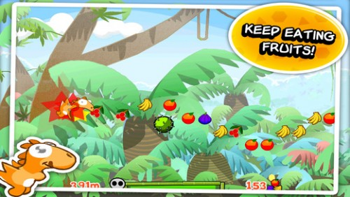 Dino Rush Screen