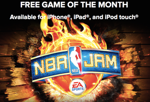 Free game of the month NBA Jam