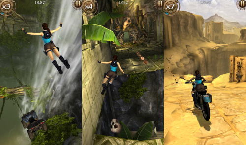 Lara Croft Relic Run Screen