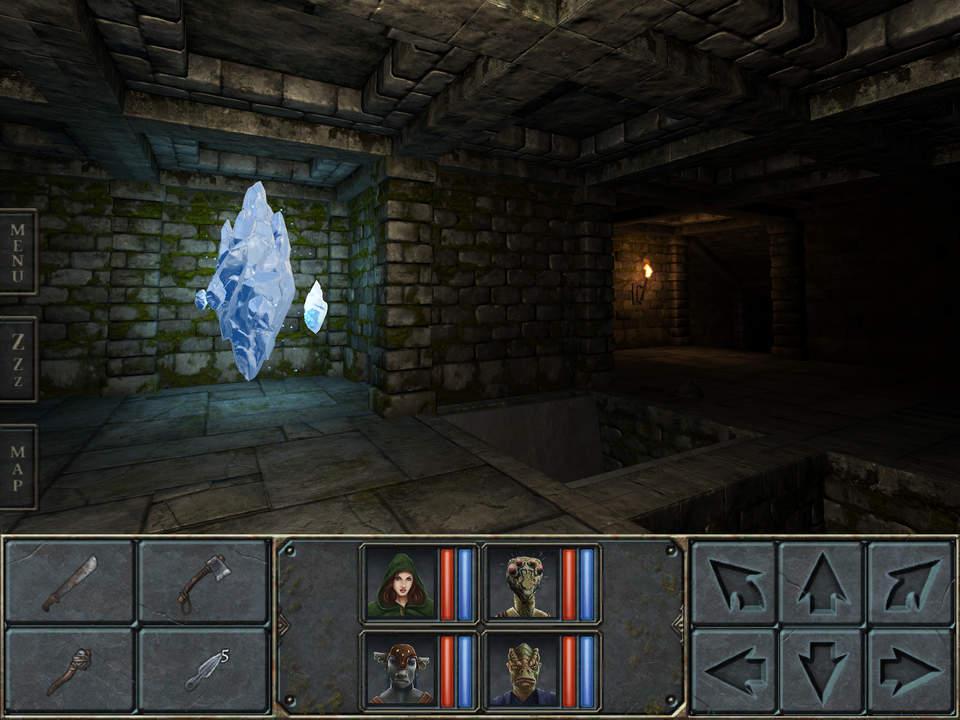 Legend of Grimrock Screen