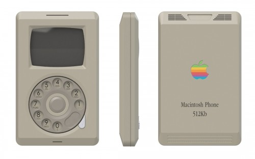 Macintosh Phone iPhone Konzept