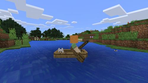 Minecraft PE Boote