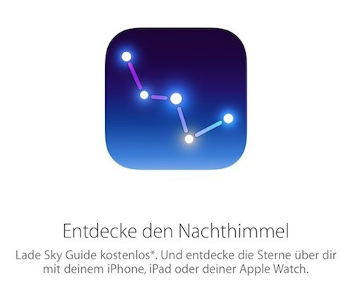 Sky Guide Aktion