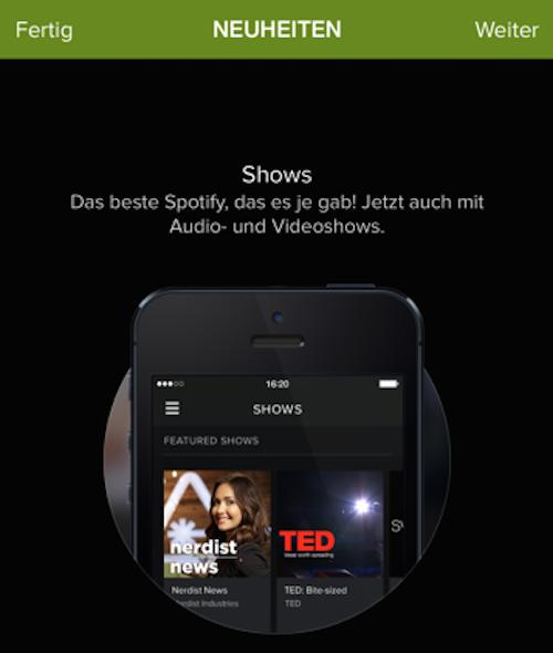 Spotify Video