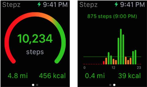 Stepz Watch App