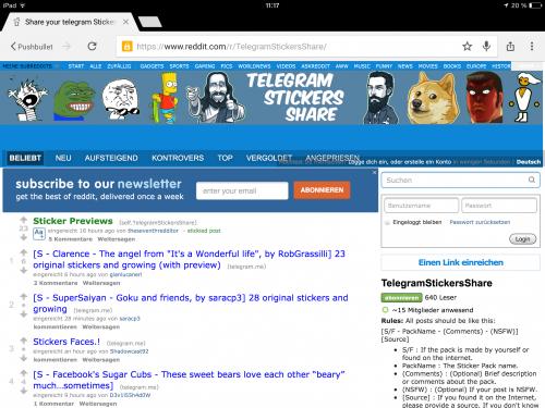 Telegram Sticker Import 1