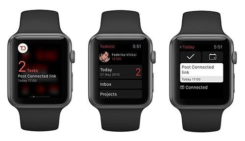 Todoist auf der Apple Watch