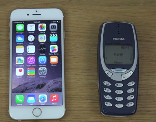 iPhone Nokia Vergleich